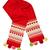 rojo · bufanda · patrón · forma · corazón · aislado - foto stock © RuslanOmega