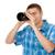 digitális · fotó · kameralencse · közelkép · izolált · fehér - stock fotó © ruslanomega