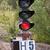 spoorweg · waarschuwing · Rood · verkeer · gevaar · signaal - stockfoto © ruslanomega