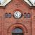 katholiek · kerk · klok · blauwe · hemel · Pasen · gebouw - stockfoto © ruslanomega