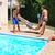 people at swimming pool stock photo © ruzanna