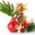 クリスマス · 装飾 · 赤 · 孤立した · 白 · パーティ - ストックフォト © ruzanna
