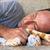 кошки · диван · красный · глазах · домой · расслабиться - Сток-фото © ruzanna