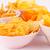 tál · sültkrumpli · szürke · étel · pihen · arany - stock fotó © ruzanna