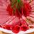 салями · бекон · пластина · продовольствие · фон - Сток-фото © ruzanna