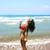 fiatal · barna · hajú · zuhan · lefelé · égbolt · nő - stock fotó © ruzanna