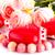 três · branco · férias · velas · vermelho · luz - foto stock © ruzanna