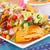 nachos · hortalizas · queso · salsa · colorido · toallas - foto stock © ruzanna