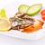 рыбы · овощей · пластина · ресторан · красный · еды - Сток-фото © ruzanna