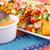 nachos · hortalizas · verde · placa · maíz - foto stock © ruzanna
