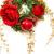 arany · izolált · karácsonyfa · díszített · sok · ajándékok - stock fotó © ruzanna