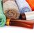 verde · sabão · garrafa · colorido · toalhas - foto stock © ruzanna