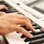 keyboards player stock photo © ruzanna