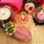 toalhas · sabão · flores · velas · textura · fogo - foto stock © ruzanna
