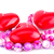 red heart candles and pink necklace stock photo © ruzanna