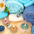 sabão · pedras · flores · interior · marrom · toalha - foto stock © ruzanna