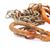 zardzewiałe · łańcucha · link · ogrodzenie · odizolowany · biały - zdjęcia stock © ruzanna