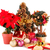 holly berry flowers christmas tree and decoration stock photo © ruzanna