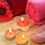 toalhas · flores · velas · sabão · flor · textura - foto stock © ruzanna