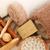 toalhas · estância · termal · conjunto · isolado · branco · textura - foto stock © ruzanna