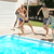 people jumping to swimming pool stock photo © ruzanna