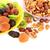 essiccati · tropicali · frutti · piatto · rosso - foto d'archivio © ruzanna
