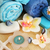 towels soaps flowers candles stock photo © ruzanna