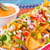 nachos · zöldségek · piros · mártás · sajt · izolált - stock fotó © ruzanna