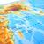 azul · blanco · ilustrado · mapa · del · mundo · textura · mapa - foto stock © ruzanna