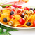 nachos · olajbogyók · disznóhús · vesepecsenye · zöldségek · kép - stock fotó © ruzanna