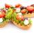 sandwiches with rusks and vegetables stock photo © ruzanna