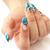 hand with nail art stock photo © ruzanna