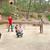 adolescentes · jogar · voleibol · esportes · verão · estudantes - foto stock © ruzanna