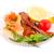 affumicato · sgombri · insalata · fette · tritato · alimentare - foto d'archivio © ruzanna