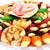 frutas · nozes · prato · secas · fruto · noz - foto stock © ruzanna