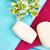 massagem · toalhas · rosas · vermelhas · pétalas · flor - foto stock © ruzanna