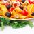 nachos · olive · carne · di · maiale · verdura · immagine - foto d'archivio © ruzanna