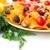 nachos · olajbogyók · disznóhús · vesepecsenye · zöldségek · izolált - stock fotó © ruzanna
