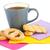 cup of tea cookies and rusks stock photo © ruzanna