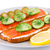 сэндвич · лосося · тоста · приготовления · каменные · Top - Сток-фото © ruzanna