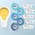business · infographics · origami · stijl · lamp - stockfoto © rwgusev