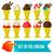 conjunto · sorvete · tigela · comida · vidro · chocolate - foto stock © sabelskaya