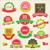 colección · Navidad · adornos · decorativo · elementos - foto stock © sabelskaya