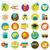 vetor · escolas · ícones · isolado · branco · maçã - foto stock © sabelskaya