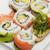 sushi · farklı · balık · kırmızı - stok fotoğraf © saddako2