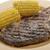 kaburga · göz · biftek · mısır · ızgara - stok fotoğraf © saddako2
