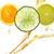 オレンジ · レモン · 石灰 · ジュース · スプラッシュ · 抽象的な - ストックフォト © saddako2