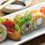 sushi · akşam · yemeği · Japon · pirinç · sebze - stok fotoğraf © saddako2