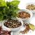 tazón · blanco · salsa · hierbas · rojo · mantel - foto stock © saddako2