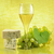 fehérbor · szőlő · márványsajt · fából · készült · bor · üveg - stock fotó © saddako2